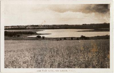 , View River Clyde, New Glasgow, P.E.I. (1969), PEI Postcards