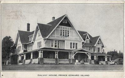 , Dalvay House, Prince Edward Island (1971), PEI Postcards