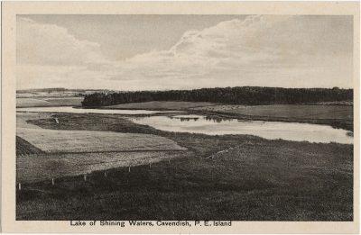 , Lake of Shining Waters, Cavendish, P.E. Island (1977), PEI Postcards