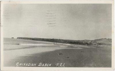 , Cavendish Beach, P.E.I. (1982), PEI Postcards