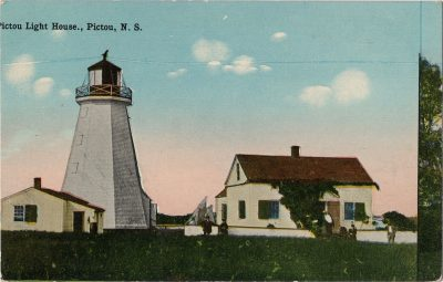 , Pictou Light House, Pictou, N.S. (2005), PEI Postcards