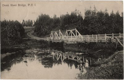 , Dunk River Bridge, P.E.I. (2015), PEI Postcards
