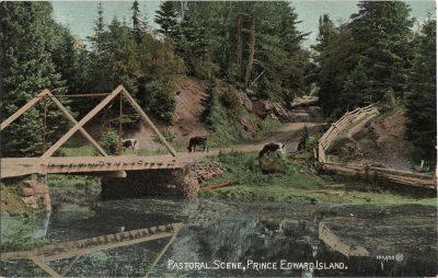 , Pastoral Scene, Prince Edward Island. (2006), PEI Postcards