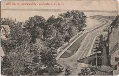 , Entrance to Victoria Park, Charlottetown, P.E.I. (2017), PEI Postcards