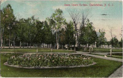 , Queen Square Gardens, Charlottetown, P.E.I. (2024), PEI Postcards