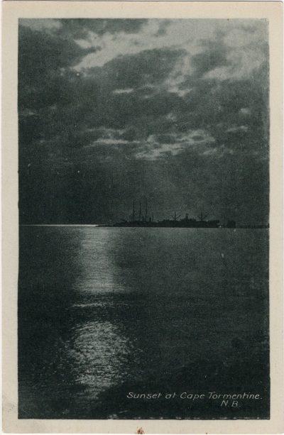 , Sunset at Cape Tormentine, N.B. (2027), PEI Postcards