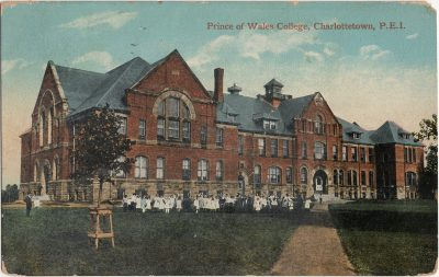 , Prince of Wales College, Charlottetown, P.E.I. (2032), PEI Postcards