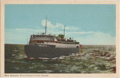 , M.V. Abegweit, Prince Edward Island, Canada. (2033), PEI Postcards
