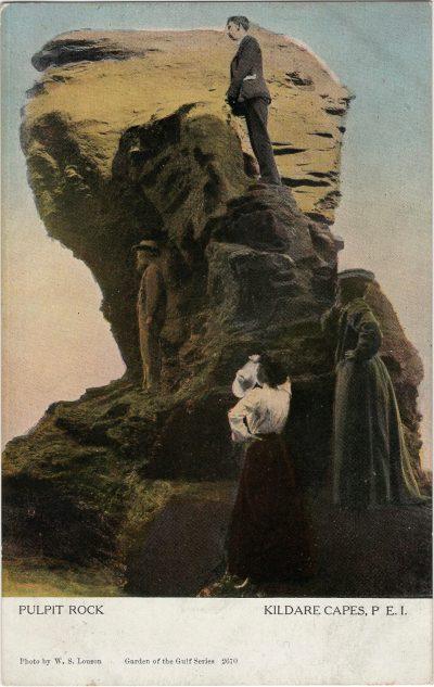 , Pulpit Rock Kildare Capes, P.E.I. (2042), PEI Postcards