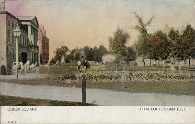 , Queen Square Charlottetown, P.E.I. (2044), PEI Postcards