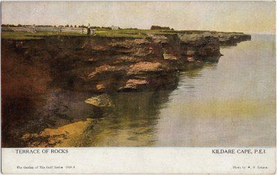 , Terrace of Rocks Kildare Cape, P.E.I. (2048), PEI Postcards