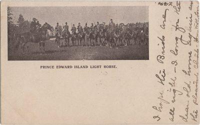 , Prince Edward Island Light Horse. (2009), PEI Postcards