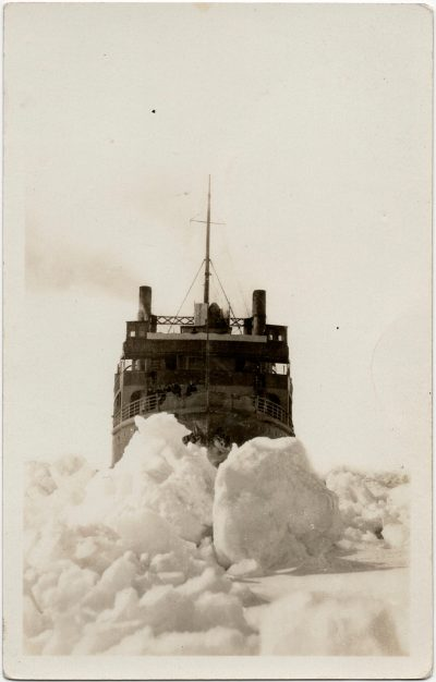 , {ferry Prince Edward on Northumberland strait – no words on card} (2058), PEI Postcards