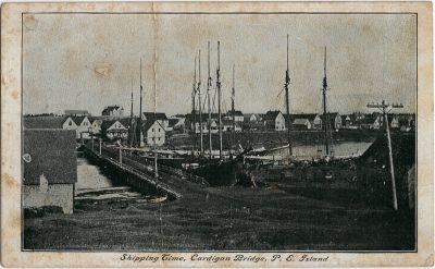 , Shipping Time, Cardigan Bridge, P.E. Island (2060), PEI Postcards