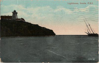 , Lighthouse, Souris, P.E.I. (2066), PEI Postcards