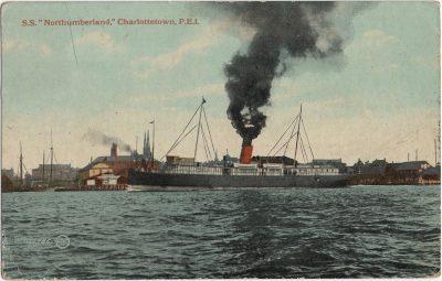 ", S.S. ""Northumberland,"" Charlottetown, P.E.I. (2068), PEI Postcards"