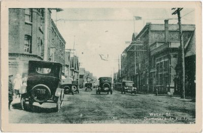, Water Street. Summerside, P.E.I. (2055), PEI Postcards