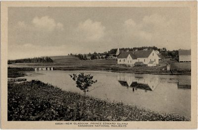 , New Glasgow, Prince Edward Island (2071), PEI Postcards