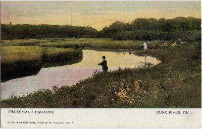 , Fisherman's Paradise Dunk River, P.E.I. (2056), PEI Postcards