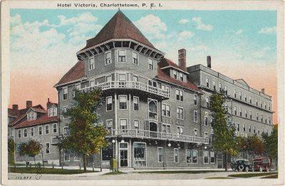 , Hotel Victoria, Charlottetown, P.E.I. (2074), PEI Postcards
