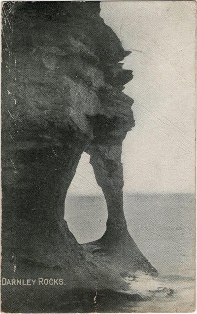 , Darnley Rocks (2077), PEI Postcards