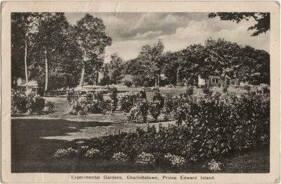 , Experimental Gardens, Charlottetown, Prince Edward Island (2084), PEI Postcards