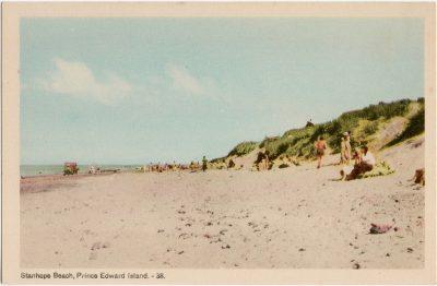 , Stanhope Beach, Prince Edward Island. (2085), PEI Postcards