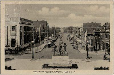 , Queen's Square, Charlottetown, P.E.I. (2089), PEI Postcards