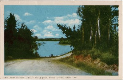 , Mill River between O'Leary and Tignish, Prince Edward Island. (2093), PEI Postcards