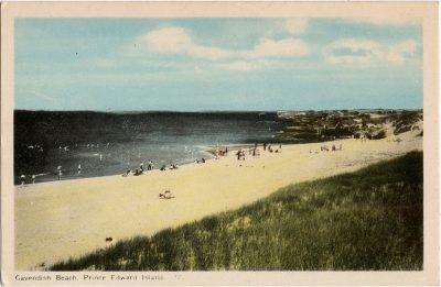 , Cavendish Beach, Prince Edward Island. (2100), PEI Postcards