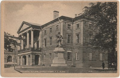 , Provincial Building, Charlottetown, P.E. Island (2111), PEI Postcards