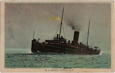 """, """"S. S. Minto"""" Pictou, N.S. (2117), PEI Postcards"""