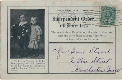 , Independent Order of Foresters (2107), PEI Postcards