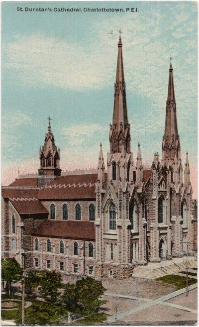 , St. Dunstan's Cathedral, Charlottetown, P.E.I. (2121), PEI Postcards