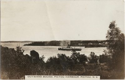 , Outward Bound, Pictou Harbour, Pictou, N.S. (2122), PEI Postcards