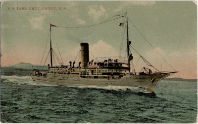 , S.S. Earl Grey, Pictou, N.S. (2128), PEI Postcards