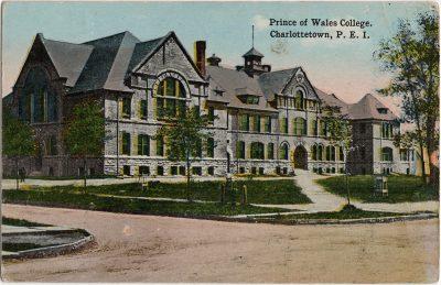 , Prince of Wales College, Charlottetown, P.E.I. (2130), PEI Postcards