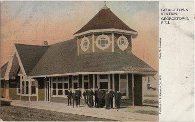 , Georgetown Station, Georgetown, P.E.I. (2133), PEI Postcards