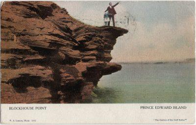 , Blockhouse Point Prince Edward Island (2134), PEI Postcards