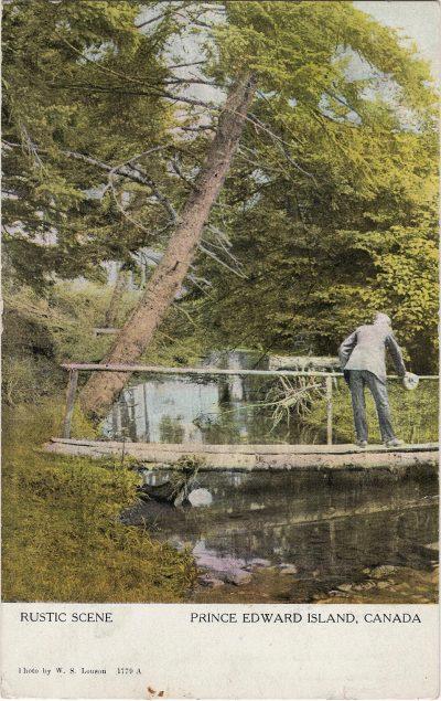 , Rustic Scene, Prince Edward Island, Canada (2139), PEI Postcards