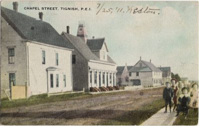 , Chapel Street, Tignish, P.E.I. (2140), PEI Postcards