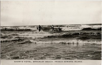 , Shaw's Hotel, Brackley Beach, Prince Edward Island. (2141), PEI Postcards