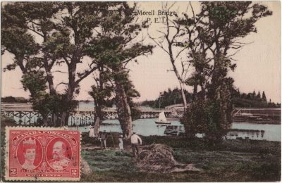 , Morell Bridge, P.E.I. (2142), PEI Postcards