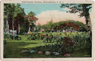 , Experimental Gardens, Charlottetown, P.E.I. (2146), PEI Postcards