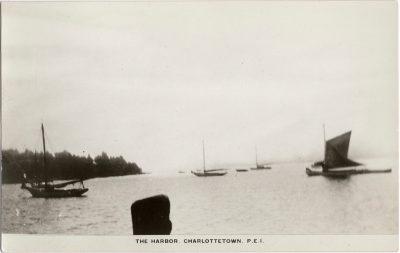 , The Harbor, Charlottetown, P.E.I. (2148), PEI Postcards