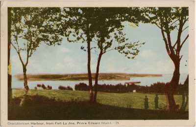 , Charlottetown Harbour, from Fort La Joie, Prince Edward Island. (2214), PEI Postcards