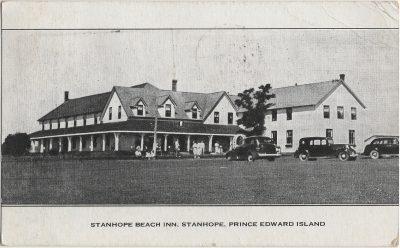 , Stanhope Beach Inn, Stanhope, Prince Edward Island (2203), PEI Postcards