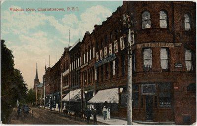 , Victoria Row, Charlottetown, P.E.I. (2206), PEI Postcards