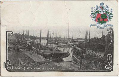 , Port of Montague, P.E. Island (2204), PEI Postcards