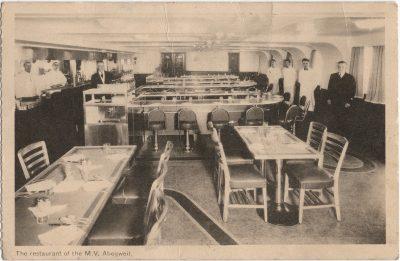 , The restaurant of the M.V. Abegweit. (2199), PEI Postcards